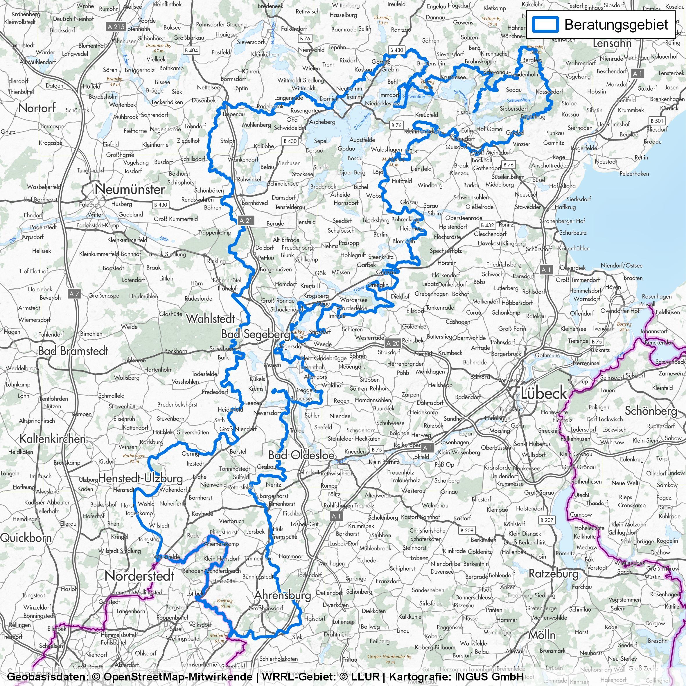Beratungsgebiet Holsteinische Schweiz