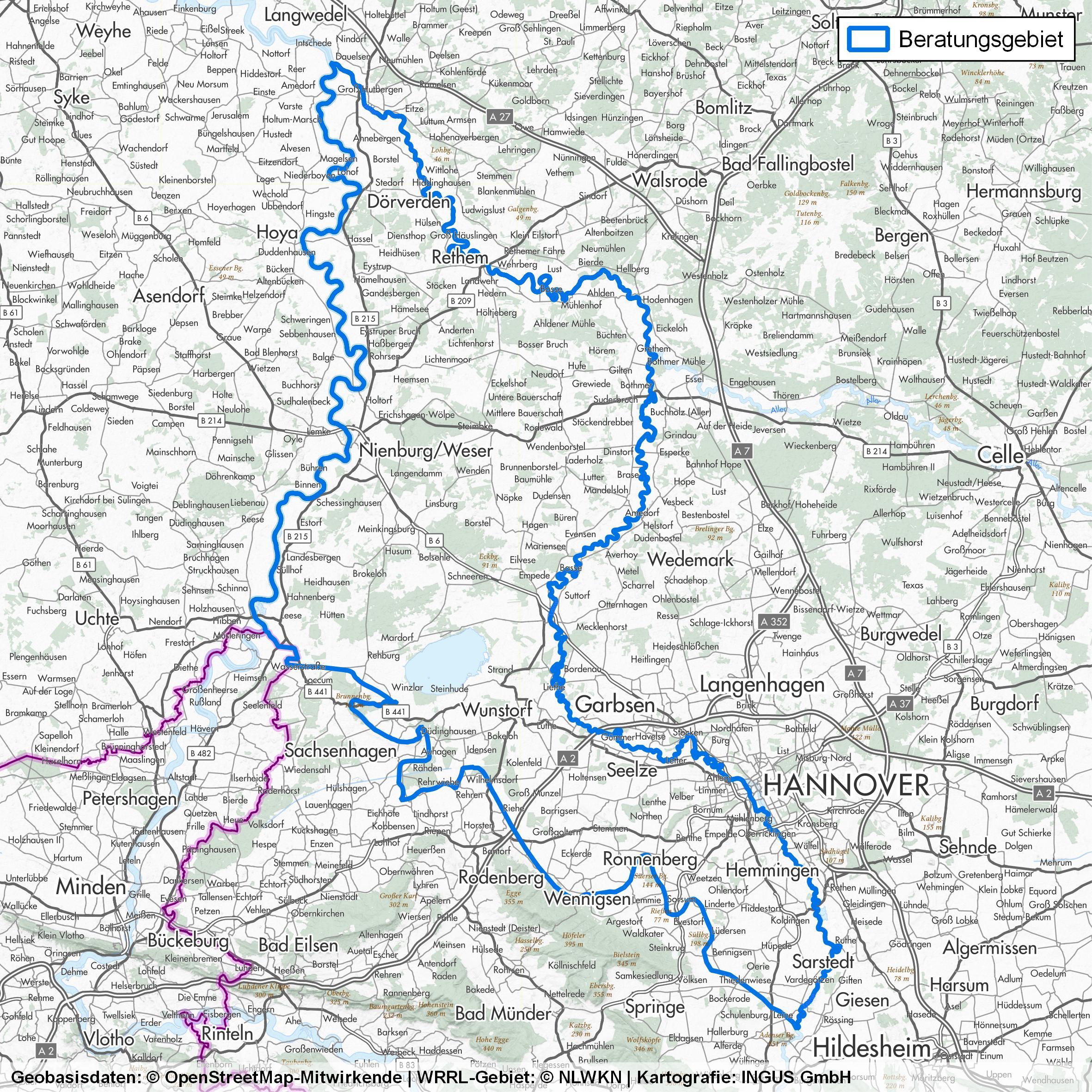 WRRL Weser/Leine